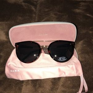 Zara cheetah print sunglasses