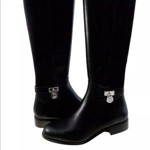 Michael Kors Hamilton tall boots NIB