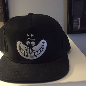 Cheshire Cat snap back.