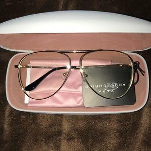 Zara clear glasses NEW