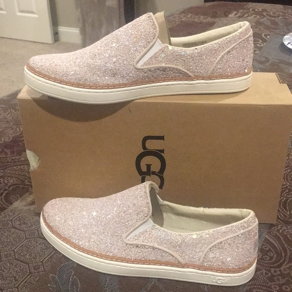 d34e0dd51c0 🆕UGG Adley Chunky Glitter Slip-On Sneakers $ FIRM NWT