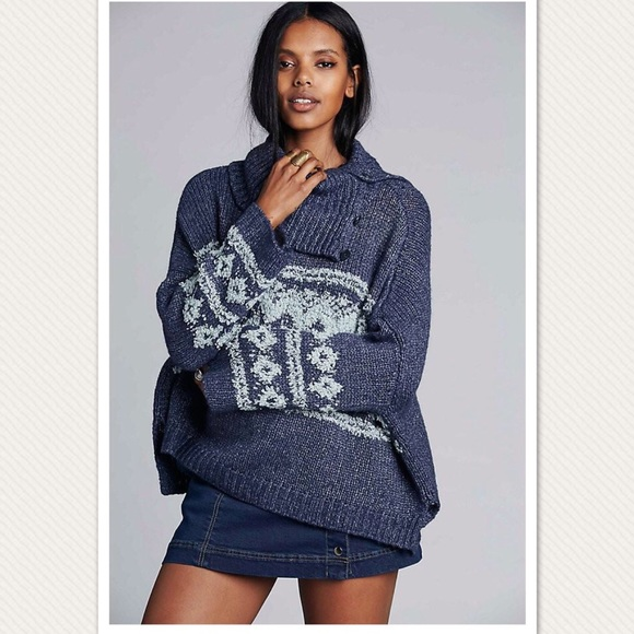 73% off Free People Sweaters - NWT Free People FairIsle Ragnar ...