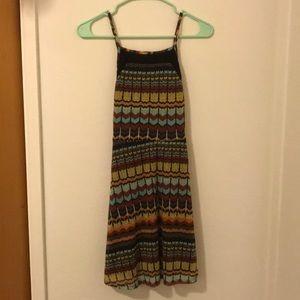 Autumn pattern summer dress