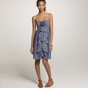 2FOR20 J. Crew Wild Rose Chambray Dress
