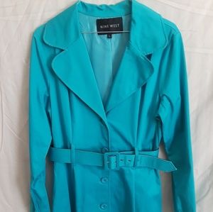 Turquoise Coat by Nine West