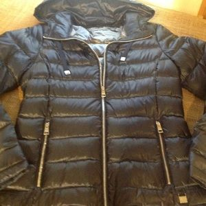 Andrew Marc Packable Lightweight Down Jacket