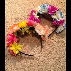 Flower bouquet headband Bundle