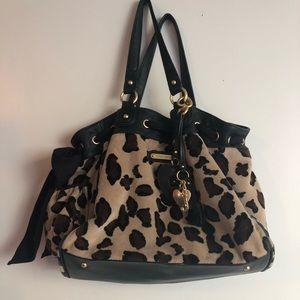 Juicy Couture Leopard Print Tote Bag