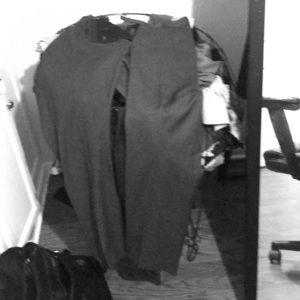 Calvin Klein Gray Dress pants