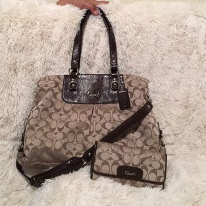 COACH Ashley Purse SET💥 OFFERS WELCOMED💥
