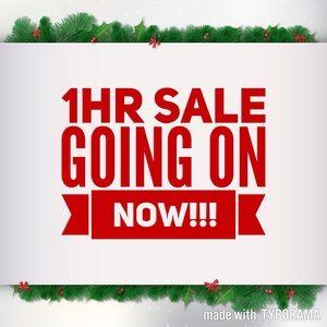 🤑 1 hr Sale 🤑