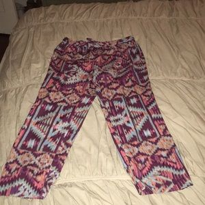 Anthropologie silky jogger pants