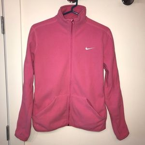 Nike zip up jacket in great condition!