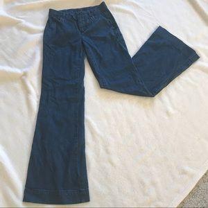 Joe's wide leg jeans, size 24