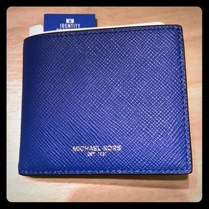Authentic MK slim wallet with RFID protection