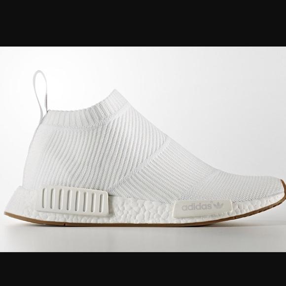 Mens Adidas Y3 Nmd City Sock Sneaker In