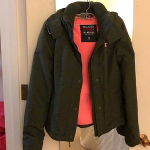 Navy green all weather jacket