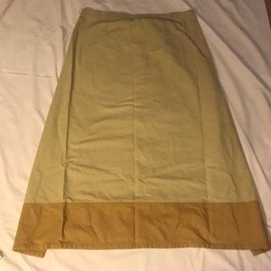 Mountains of the Moon wrap hemp skirt xl hippie
