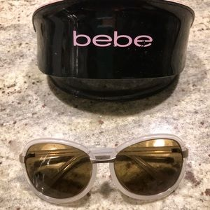 Bebe sunglasses with case