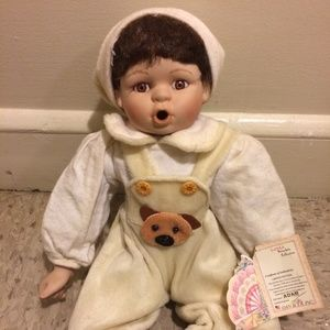 Collectable Porcelain Boy Doll