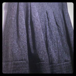 Pleated Black Skirt Antonio Melani