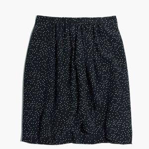 Madewell Faux Silk Wrap Skirt