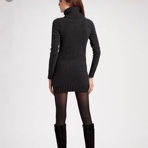 Theory Cowl Neck Sweater Dress