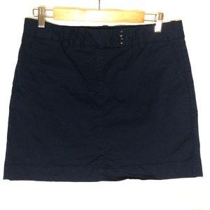 Vineyard Vines navy blue Pier twill skirt