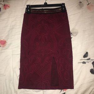 Anthroplogie pencil skirt