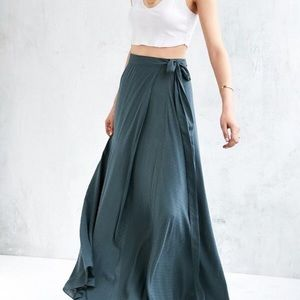 Ecote blue maxi skirt