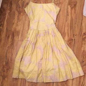 Yellow/tan sundress