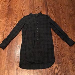 Zara Black Check Dress