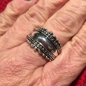 Sterling silver Cigar band