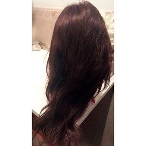 Full lace wig virgin human hair