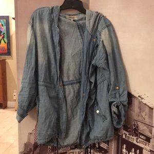 Denim chambray jacket