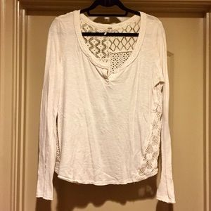 Free People Patchwork Tee