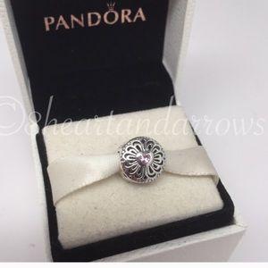 Pandora love and friendship charm