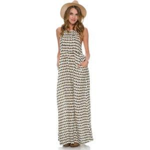 RVCA Golden Rain dress