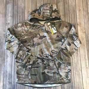 Under Armour Womens Hoodie Sweatshirt Camo Large