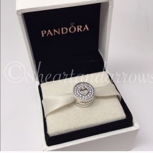 Pandora happy anniversary charm