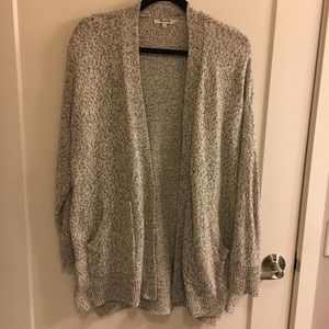 Madewell Open Cardigan with Pockets