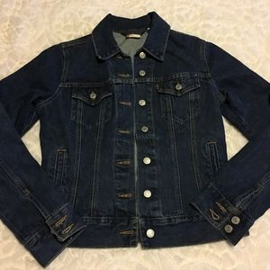 Levi's Blue Jean Jacket Cotton