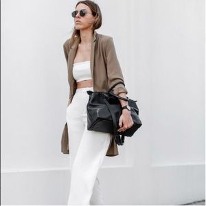 NWT Zara Seamless White Bandeau M O/S