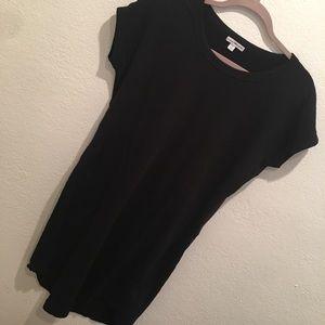 JAMES PERSE fleece black dress Size M