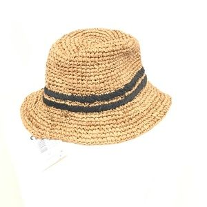 New Roxy Woven Beach Bucket Hat