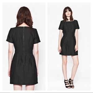 French Connection Croc Luxe Structured Dress