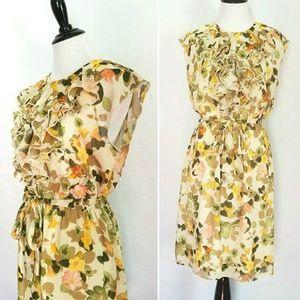 Dresses & Skirts - Floral Full Skirt Dress