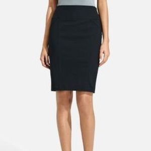 The Limited Navy Exact Stretch Pencil Skirt