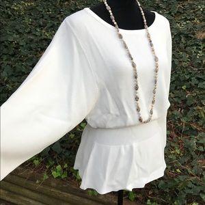 Crisp White Zara Sweater