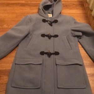 Talbots small stadium blue coat